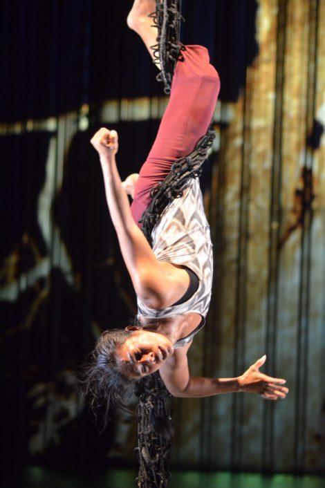 Dalisa Pigram in 'Gudirr, Gudirr'. Photo