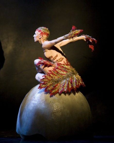 Lana Jones in Graeme Murphy's 'Firebird'. The Australian Ballet, 2009. Photo: © Alex Makeyev