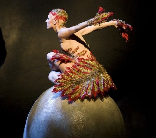 Lana Jones in Graeme Murphy's 'Firebird'. The Australian Ballet, 2009. Photo: © Alex Makeyev