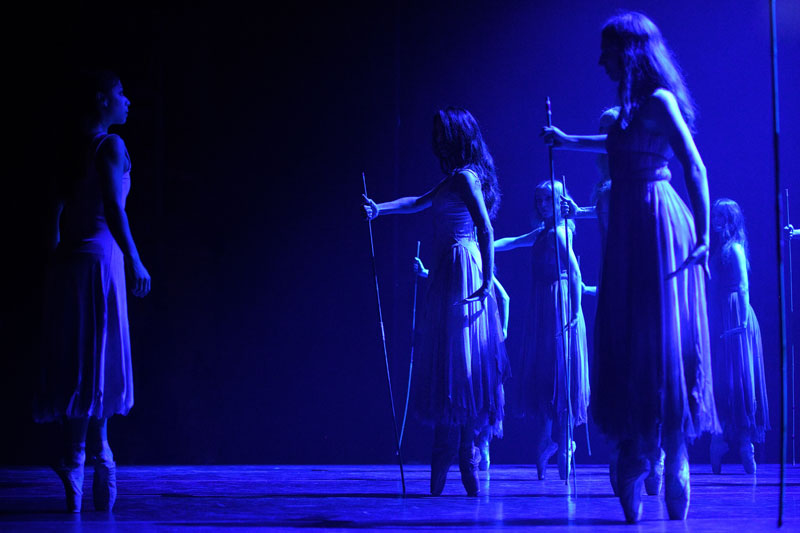 English National Ballet in Akram Khan's Giselle (c) Laurent Liotardo
