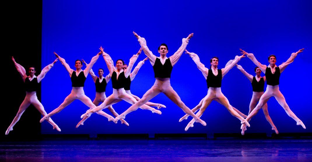 Dancers from the Australian Ballet School in 'Valetta', Showcase 2018. Photo: Sergey Konstantinov