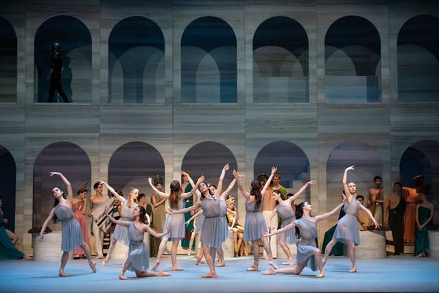 Artists of the Australian Ballet in 'Spartacus' Act II, 2018. Photo: © Daniel Boud