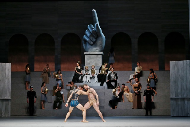 Spartacus Act I. The Australian Ballet, 2018. Photo Jeff Busby