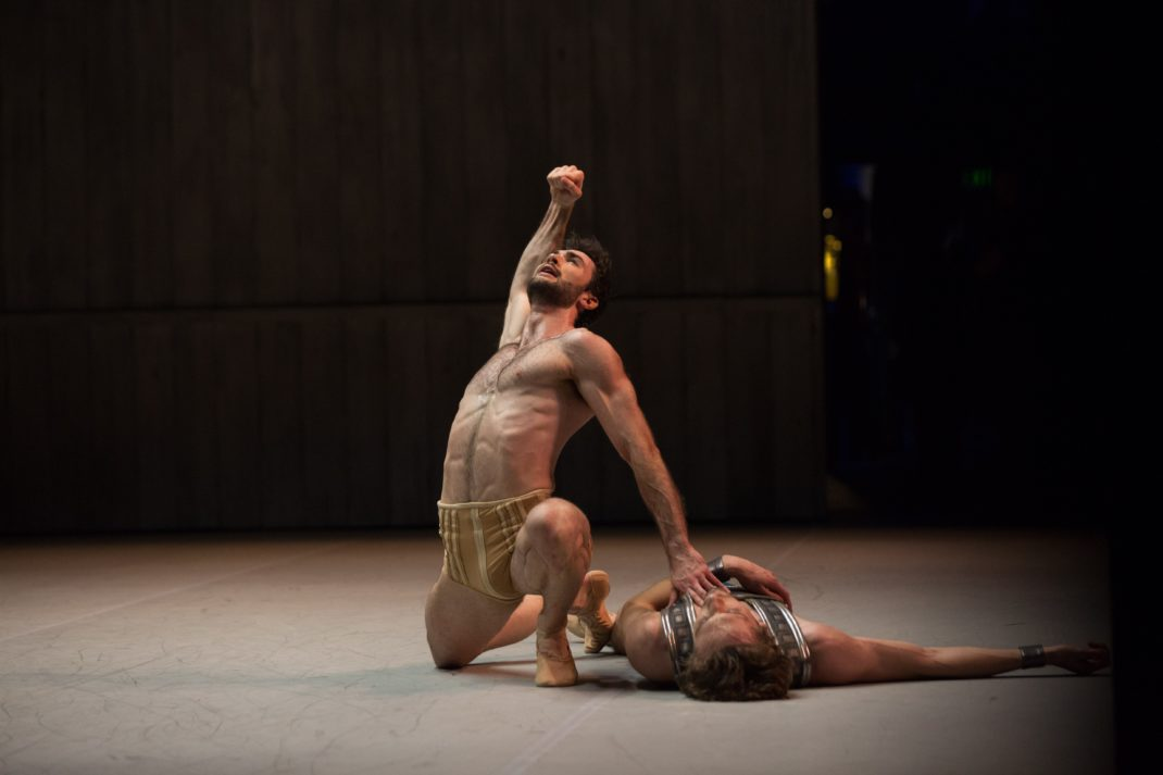 Cristiano Martino as Spartacus. The Australian Ballet, 2018. Photo: © Kate Longley