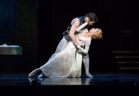 Lucy Green as Cecile and Alexander Idaszak as Valmont in 'Dangerous Liaisons'. Queensland Ballet, 2019. Photo David Kelly
