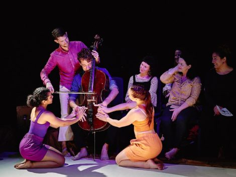 Cello Embrace from 'Chocolate'. Java Dance Company, 201