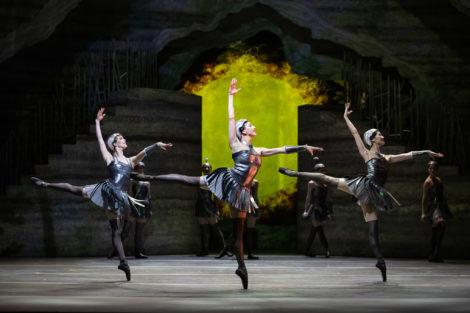 Scene from Stanton Welch's 'Sylvia'. The Australian Ballet, 2019. Photo: © Daniel Boud