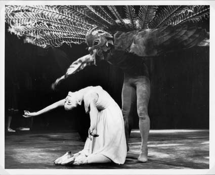 Barry Kitcher and Kathleen Gorham in 'The Display'. The Australian Ballet 1964