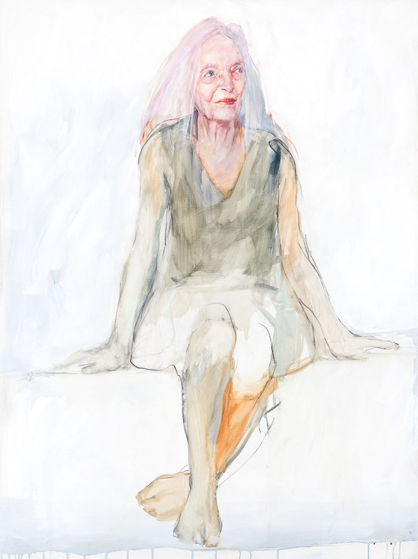 Portrait of Elizabeth Cameron Dalman by Anthea da Silva, 2019. National Portrait Gallery