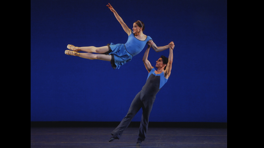 Featured image: Ashley Bouder and Joaquin De Luz in the opening movement of Concerto DSCH. New York City Ballet. Photo: © Paul Kolnik, from the New York City Ballet official website.