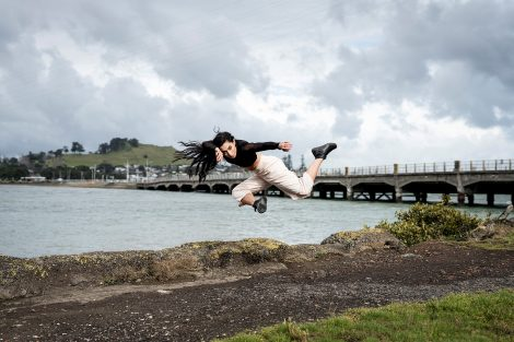 Chrissy Kokiri_of New Zealand Dance Company. Photo: ©John McDermott